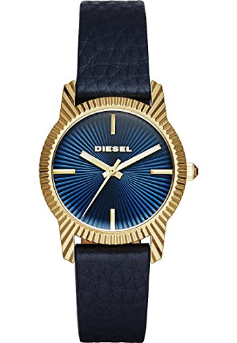 Diesel Analog Quarz One Size blau blau