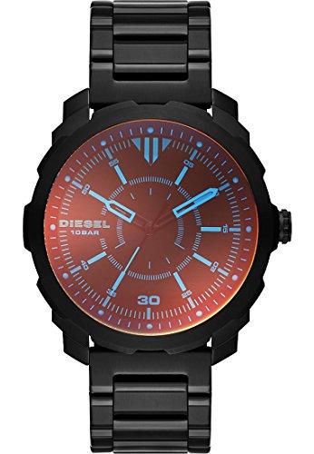 Diesel DZ1737 MACHINUS Uhr Edelstahl 100m Analog schwarz