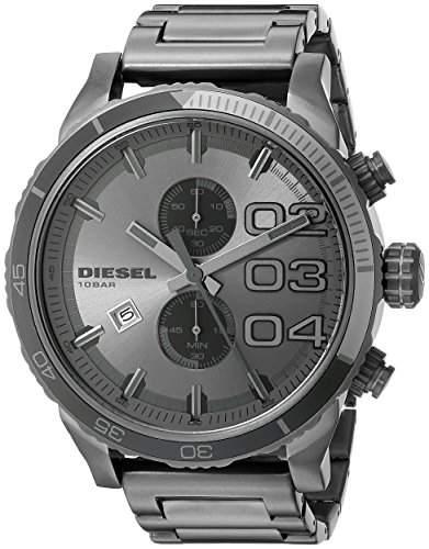 Diesel Herren-Armbanduhr XL Chronograph Quarz Edelstahl DZ4314