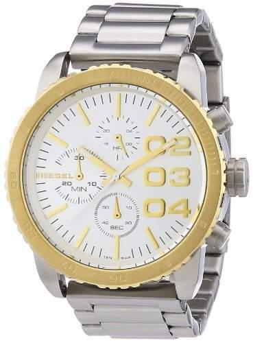Diesel Damen-Armbanduhr Chronograph Quarz Edelstahl DZ5321