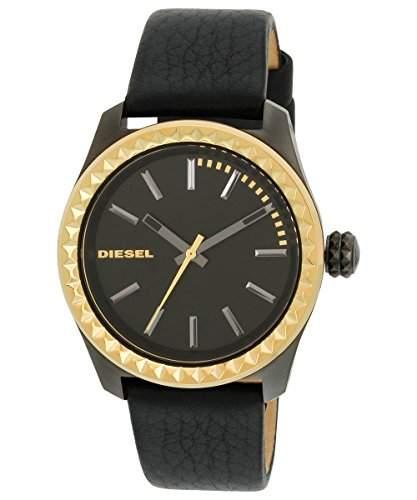 Diesel Damen-Armbanduhr Digital Leder dz5408