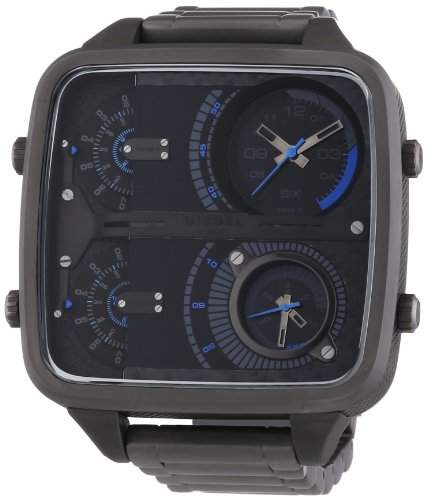 Diesel Herren-Armbanduhr Chronograph Quarz Edelstahl DZ7284