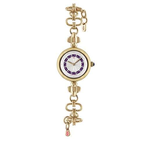 Matthew Williamson Women- Armbanduhr Analog Edelstahl Gold vergoldet Armband lbm350 DE 0206