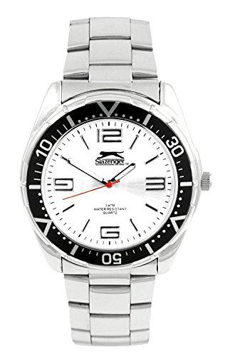 Slazenger Herren Armbanduhr Analog Quarz Edelstahl SLZ101A