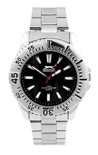 Slazenger Herren-Armbanduhr Analog Quarz Edelstahl SLZ107C