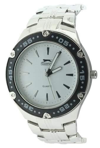SLAZENGER Herren-Armbanduhr Analog Sonstige Materialien Silber SLZ135A