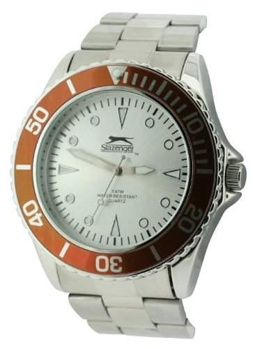 Slazenger MenDamen Armbanduhr Analog silber SLZ210C