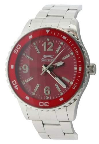 SLAZENGER Herren-Armbanduhr Analog Sonstige Materialien Silber SLZ63B