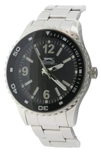 SLAZENGER Herren-Armbanduhr Analog Silber SLZ63C