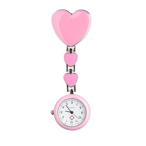SSITG Krankenschwester Schwesternuhr Uhr Pulsuhr Pflegeuhr Taschenuhr Uhr