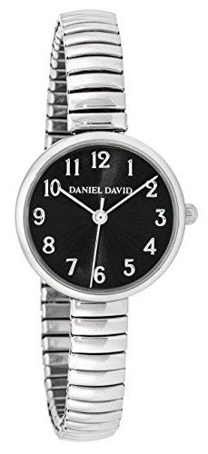 Daniel David Women s zeigt deliquate mit Armband Ende ausziehbar Farbe Gold und Zifferblatt nacre dd15803