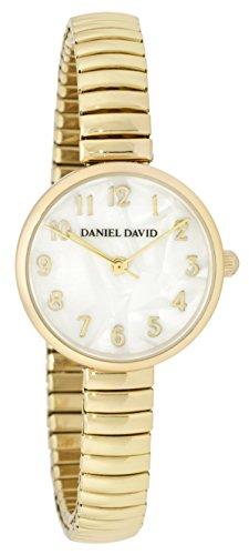 Daniel David Women s zeigt deliquate mit Armband Ende ausziehbar Farbe Silber und Zifferblatt Silber dd15802