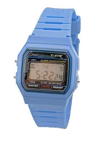 Retro Armbanduhr Digital Unisex Klassischer Stil LCD Uhr Vintage Stil