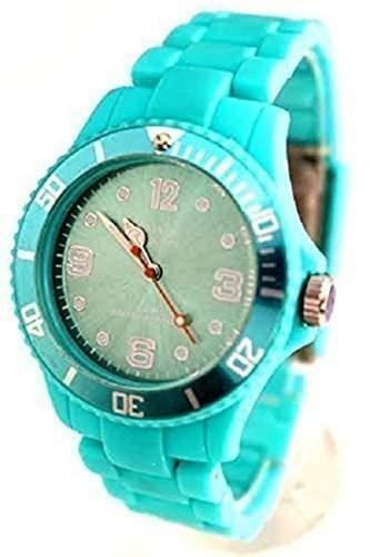 Prince London Unisex-Armbanduhr, Himmelblau, Spielzeug-Stil, 12 Monate Garantie, Modische Kunststoff-Uhr