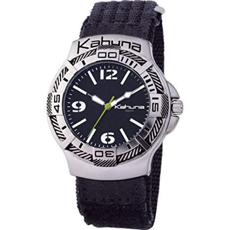 Kahuna Unisex-Armbanduhr Analog schwarz AK1C-1011G