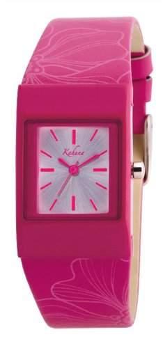 Kahuna Damen-Armbanduhr Analog Formgehaeuse Silber AKLS-0168L