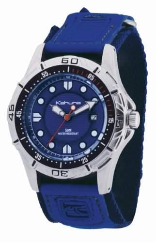 Kahuna Herren-Armbanduhr Analog blau K5V-0001G