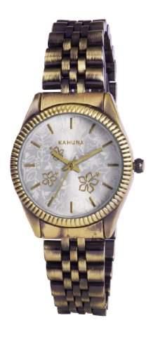 Kahuna Damen-Armbanduhr Analog gold KLB-0036L