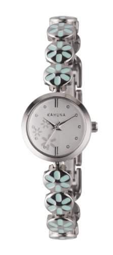 Kahuna Damen-Armbanduhr Analog Sonstige Materialien Silber KLB-0049L