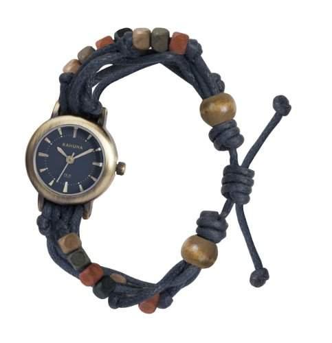 Kahuna Damen-Armbanduhr Analog plastik blau KLF-0002L