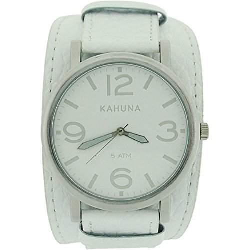 Kahuna Mens Leather Cuff Watch - KUC-0055G