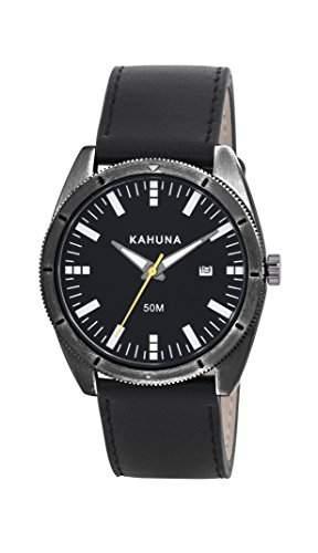 Kahuna Herren-Armbanduhr Analog Quarz Textil KUS-0115G