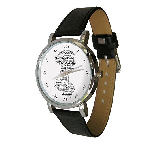 Jane Austen Design Taschenuhr Tolles Geschenk fuer jedes Jane Austen Fan
