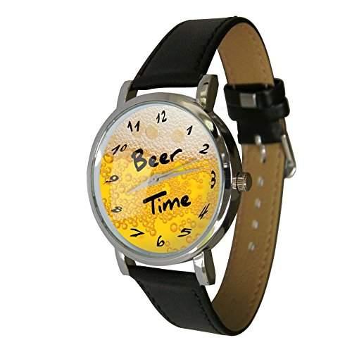 Bier Time Armbanduhr ? HUMOR ? Geschenk Armbanduhr ? ungewoehnlichen Bier Liebhaber Geschenk