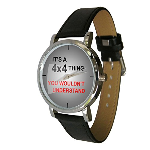 Its A 4 x 4 Thing Design Armbanduhr ein Perfekte Geschenk fuer alle Offroad Fans
