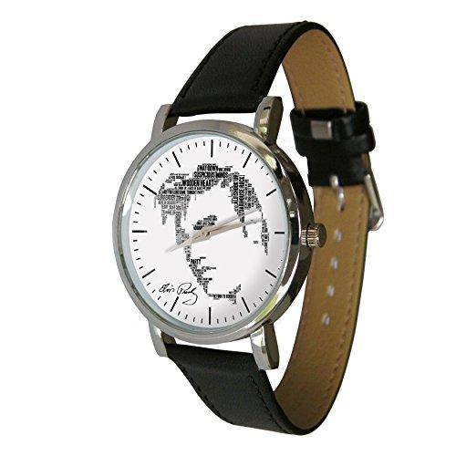 Elvis Presley Word Cloud Design wristwatch Celebration der Holywood Legende King of Rock n Roll