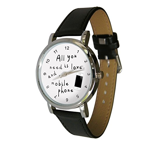 All You Need Is Love A Handy Design Armbanduhr