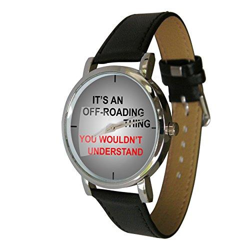 Es ist eine Off Road Thing Design Armbanduhr ein Perfekte Geschenk fuer alle 4 x 4 Fans