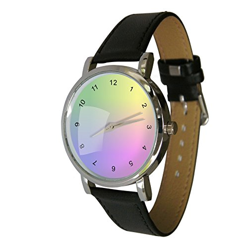 Rainbow Farben Taschenuhr A Lovely Bright Armbanduhr