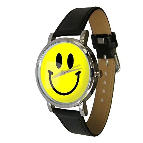 Everyone Loves Smiley Faces, warum also nicht Get A Smiley, Armbanduhr Eine tolle Armbanduhr mit einem tollen Happy Face