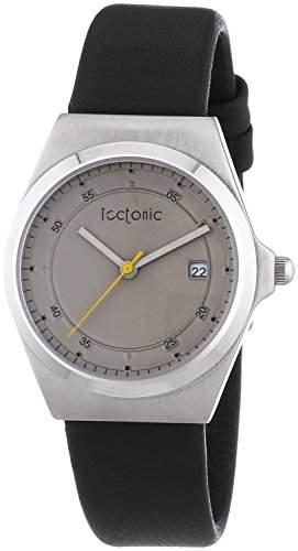 Tectonic Damen-Armbanduhr Analog Quarz Leder 41-1103-84