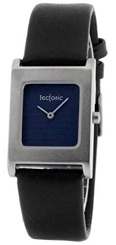 Tectonic Damen-Armbanduhr Analog Quarz Leder 41-6100-99