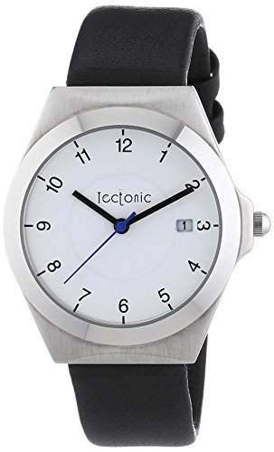 Tectonic Unisex-Armbanduhr Analog Quarz Leder 41-6103-14