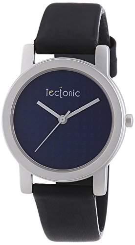 Tectonic Unisex-Armbanduhr Analog Quarz Leder 41-6108-99