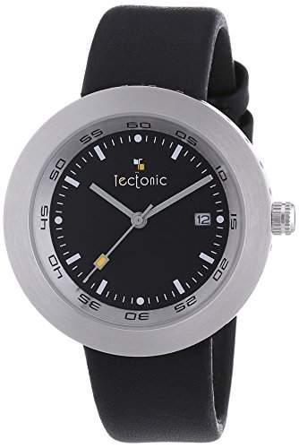 Tectonic Damen-Armbanduhr Analog Quarz Edelstahl 41-6109-44