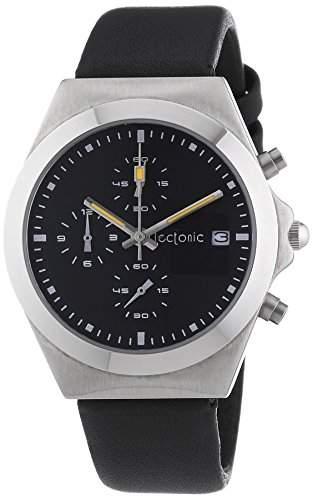 Tectonic Unisex-Armbanduhr Analog Quarz Leder 41-6905-44