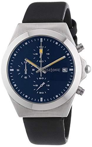 Tectonic Unisex-Armbanduhr Chronograph Quarz Leder 41-6907-99