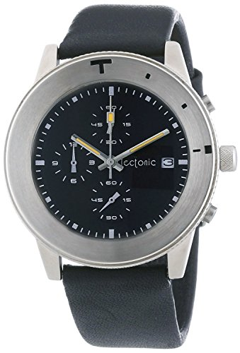 Tectonic Herren Armbanduhr Chronograph Quarz 41 6900 44