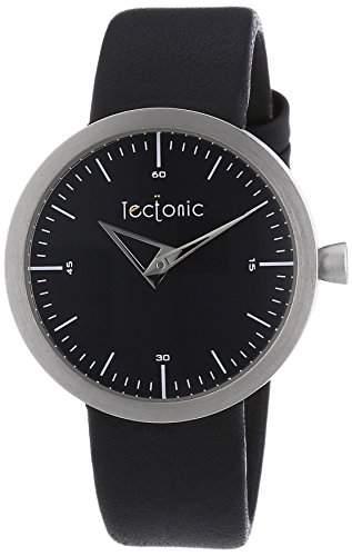 Tectonic Damen-Armbanduhr Analog Quarz Leder 41-6111-44