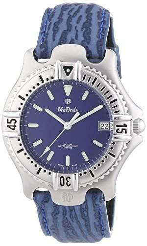 Mx Onda Herren-Armbanduhr XL Analog Quarz Leder 32-6200-99