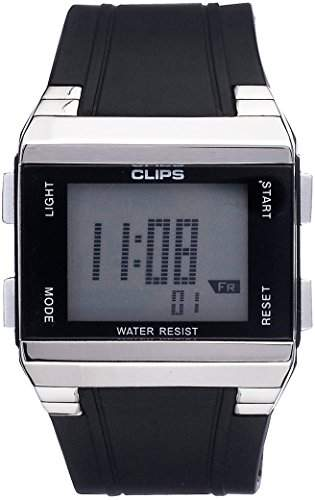 Clips Herren-Armbanduhr Digital Quarz 539-6003-44