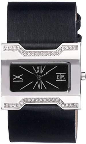 Clips Damen-Armbanduhr Analog Quarz Leder 553-1004-44