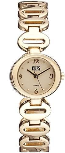 Clips Damen-Armbanduhr Analog Quarz Alloy 553-4008-22