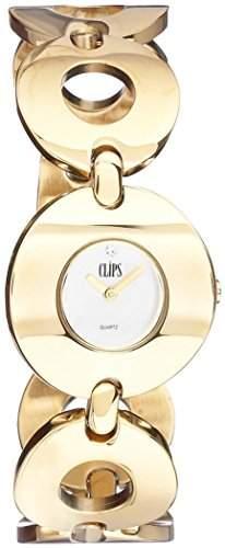 Clips Damen-Armbanduhr XS Analog Quarz Alloy 553-4012-88