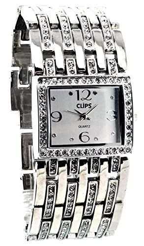 Clips Damen-Armbanduhr Analog Quarz Alloy 554-2022-88