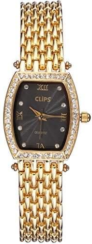 Clips Damen-Armbanduhr Analog Quarz Alloy 554-4611-42